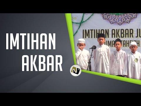 Imtihan Akbar Rumah Tahfizh YNF 2014
