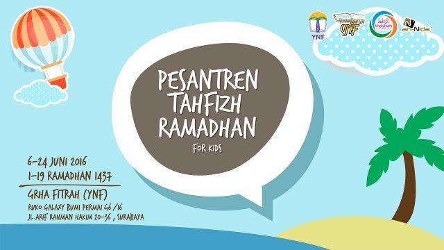 Kangen Mama – Pesantren Tahfizh Ramadhan 1437